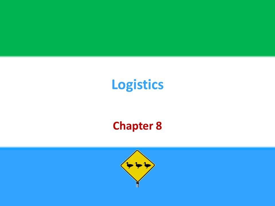 Logistics Chapter 8