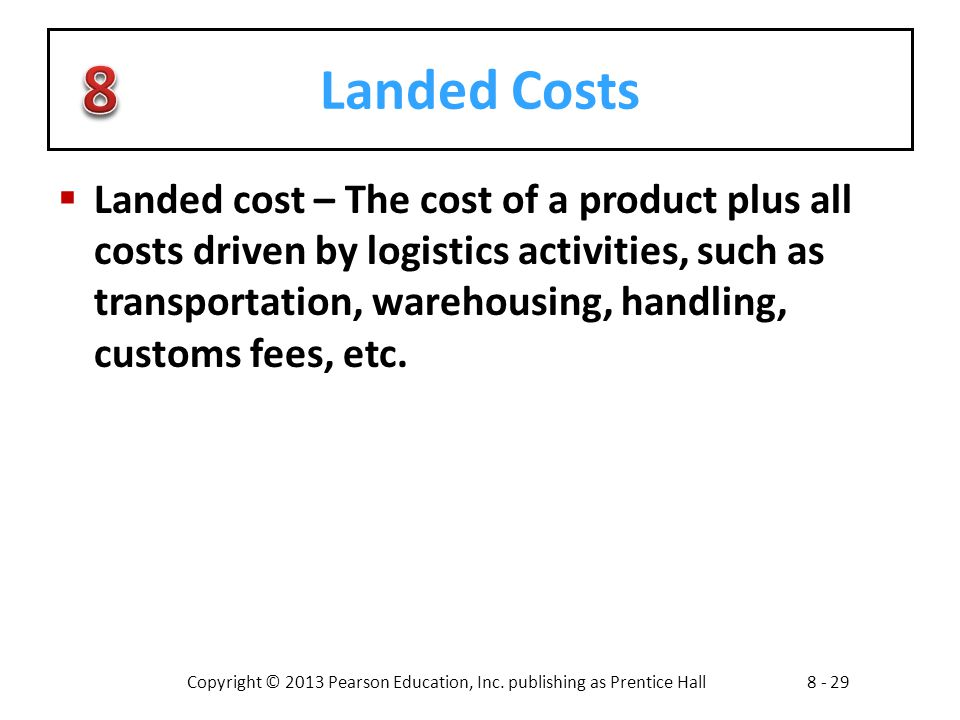 Landed Costs