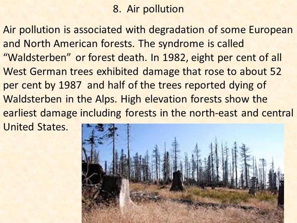 8. Air pollution