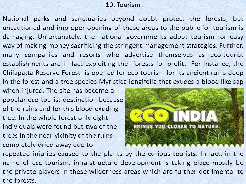 10. Tourism