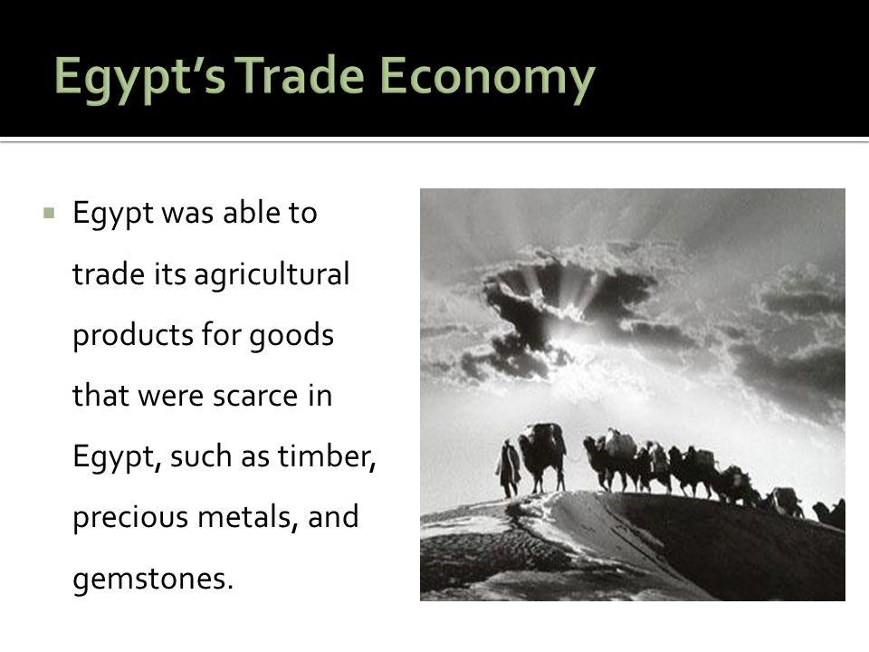Egypt's Trade Economy