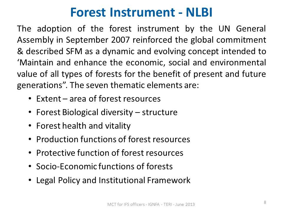 Forest Instrument - NLBI