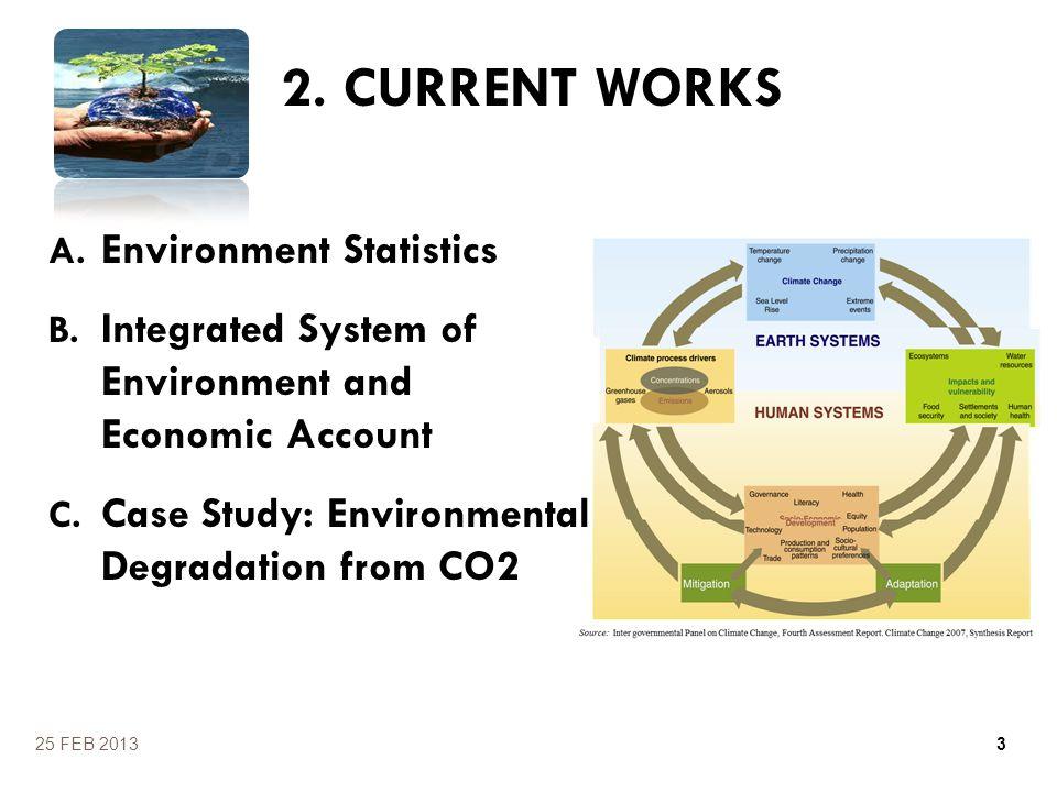2. CURRENT WORKS Environment Statistics