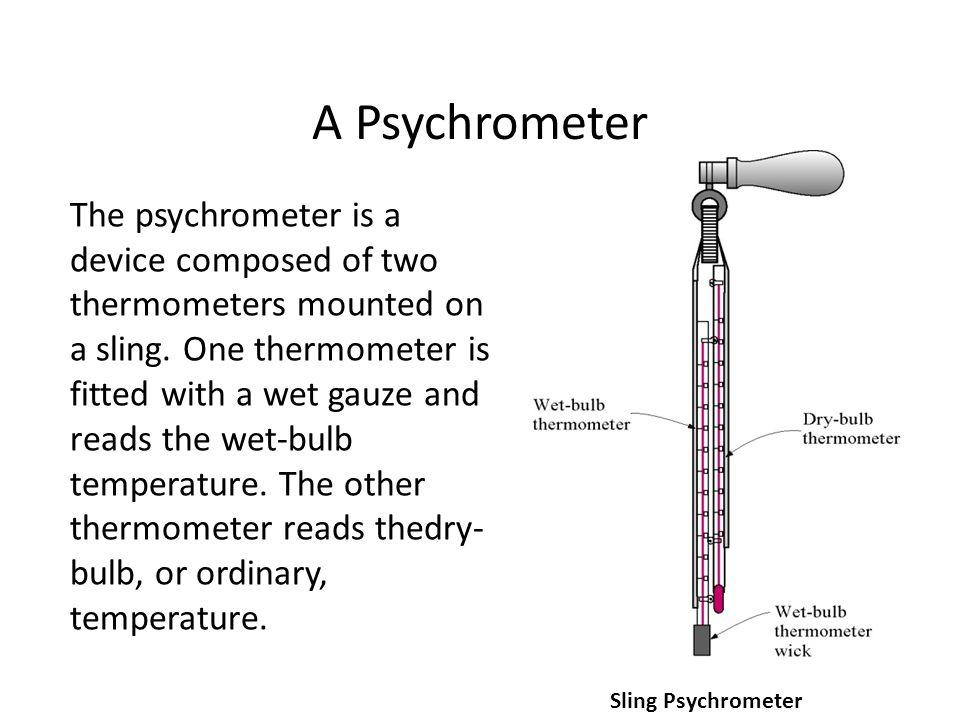 A Psychrometer