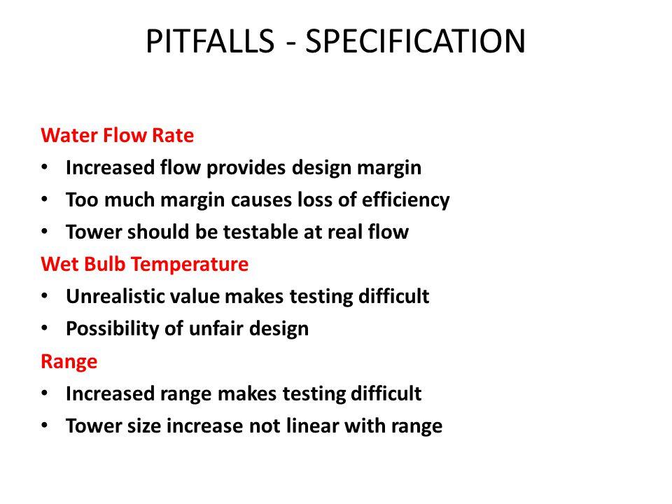 PITFALLS - SPECIFICATION