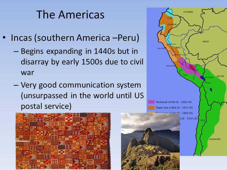 The Americas Incas (southern America –Peru)
