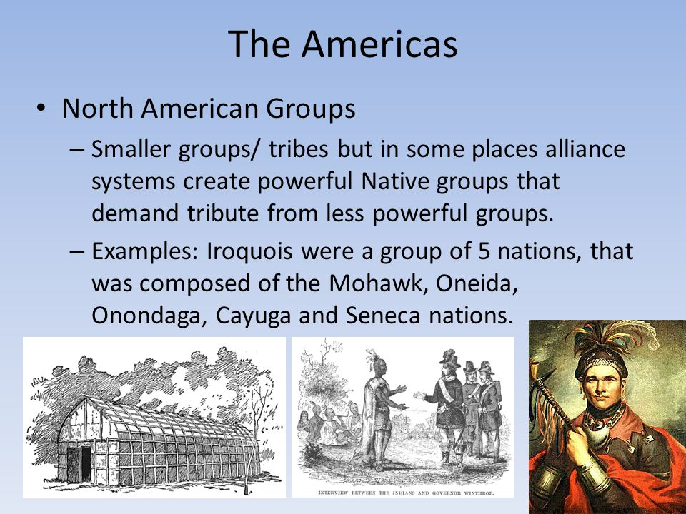 The Americas North American Groups