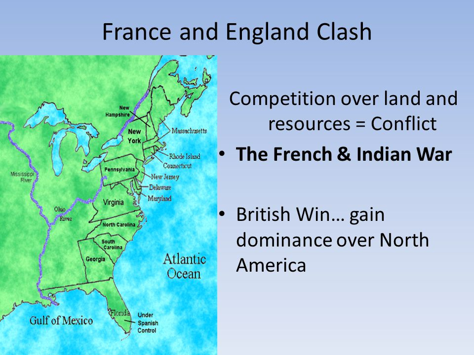 France and England Clash