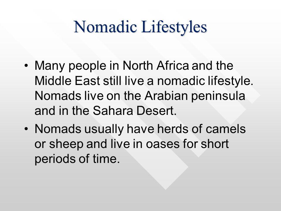 Nomadic Lifestyles