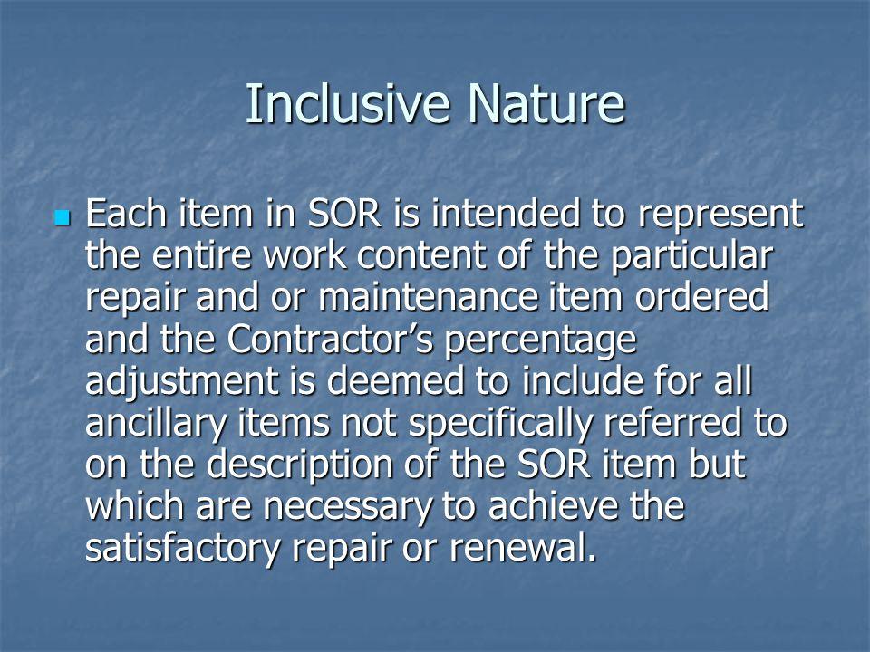 Inclusive Nature