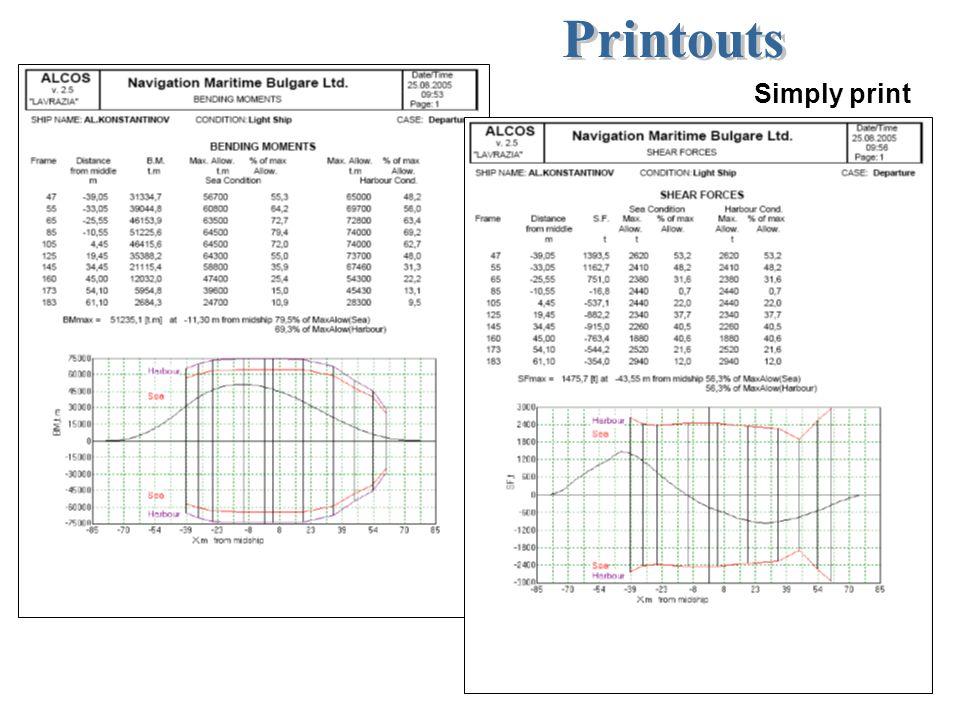 Printouts Simply print