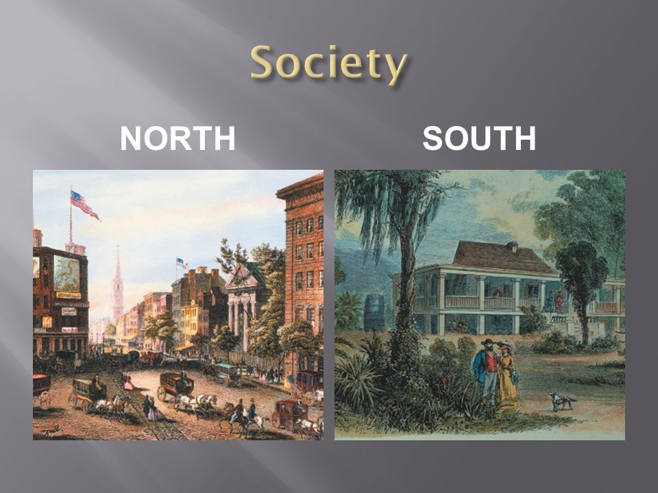 Society NORTH South