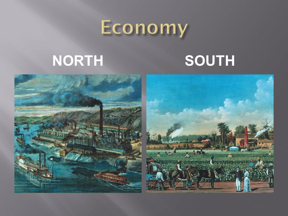 Economy NORTH South