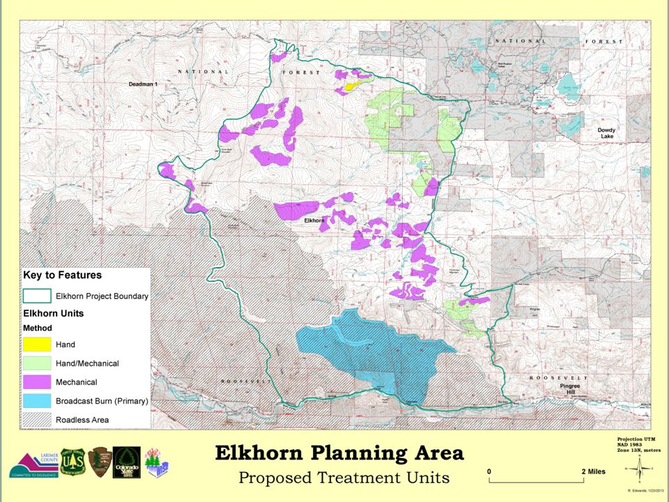 This is our proposed action for Elkhorn which has a little bit of everything