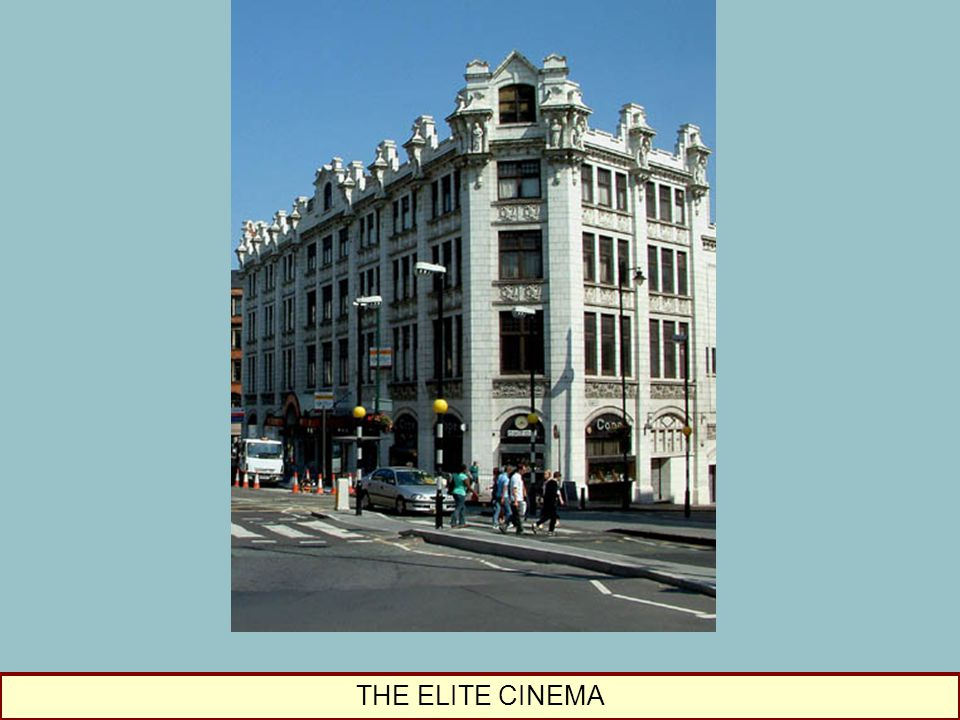 THE ELITE CINEMA