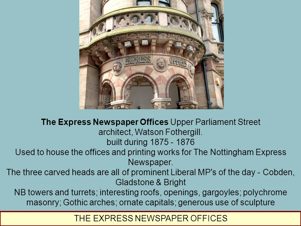 The Express Newspaper Offices Upper Parliament Street