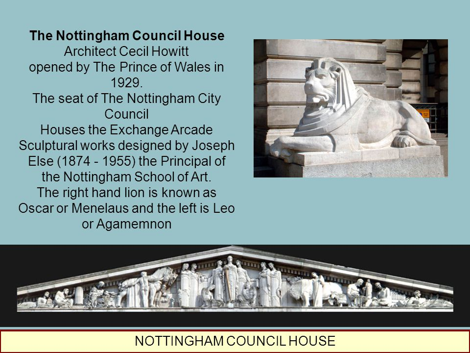 The Nottingham Council House