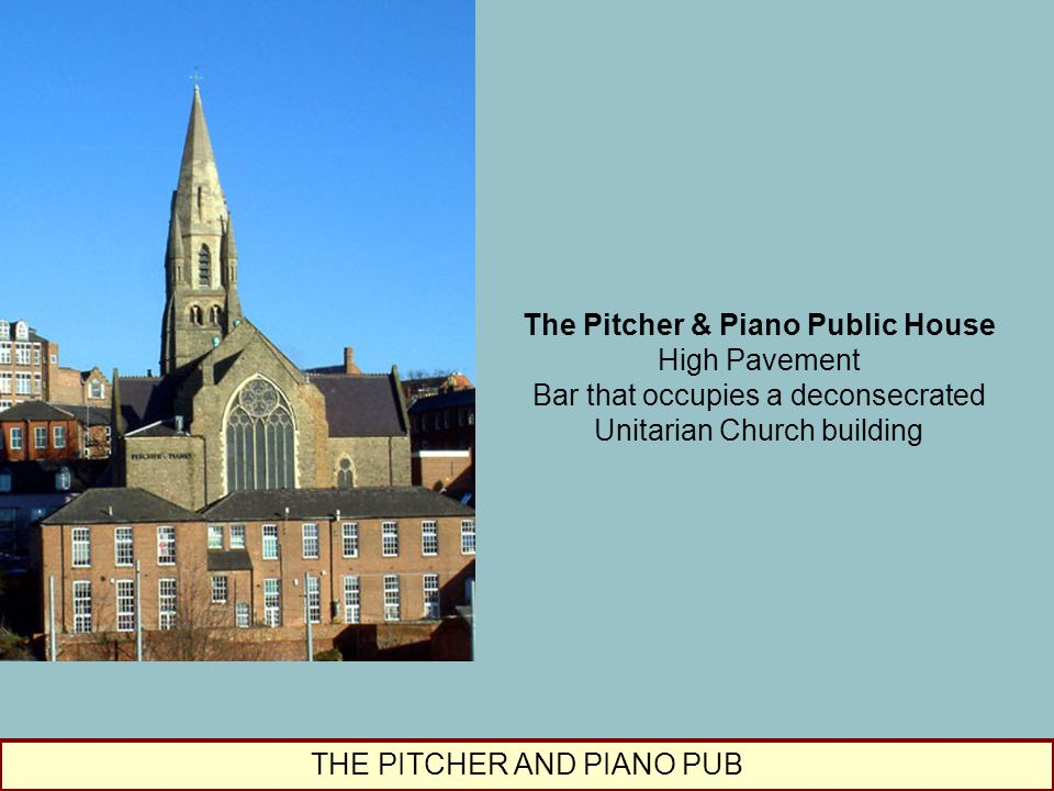 The Pitcher & Piano Public House High Pavement