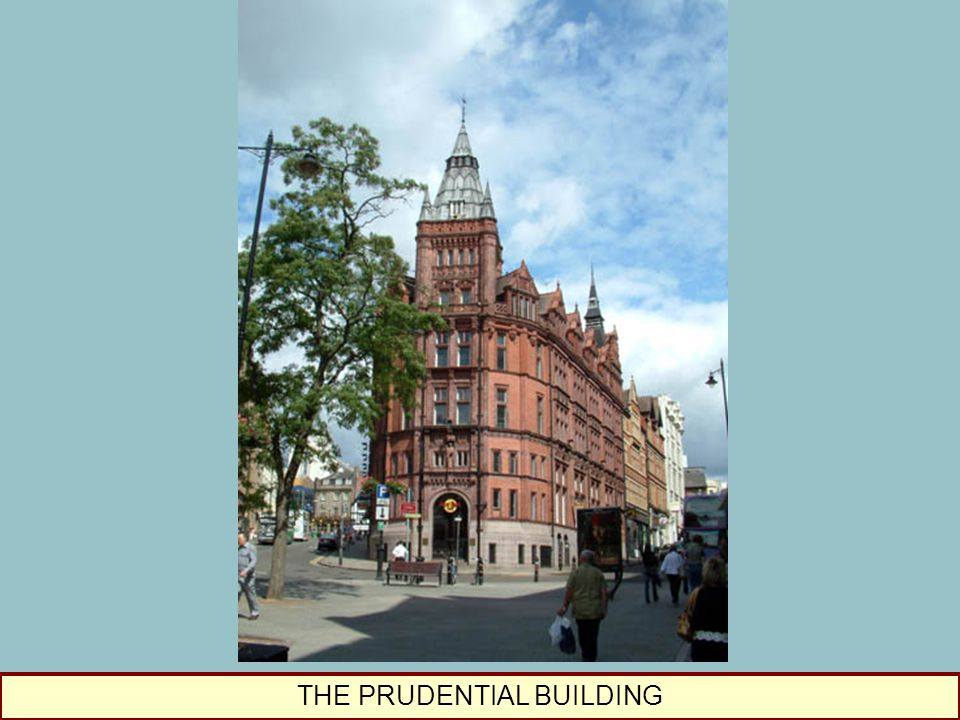 THE PRUDENTIAL BUILDING