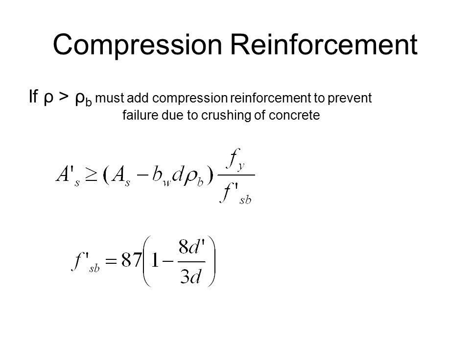Compression Reinforcement