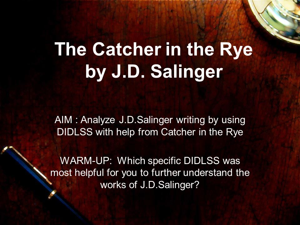 the themes of lonliness and inablity to grow up in the catcher in the rye by j d salinger Need help on themes in j d salinger's the catcher in the rye the catcher in the rye themes from litcharts dreams up schemes to escape growing up.
