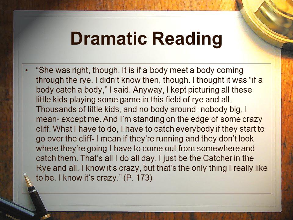 Dramatic Reading