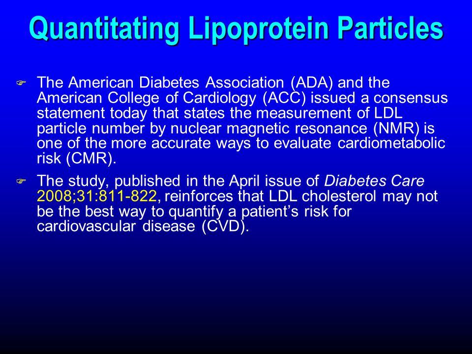 Quantitating Lipoprotein Particles