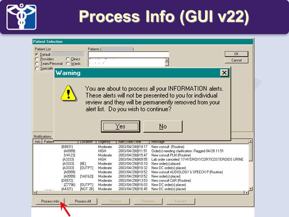 Process Info (GUI v22)