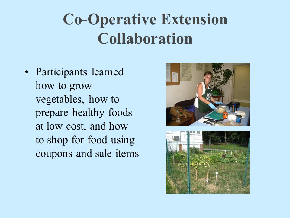 Co-Operative Extension Collaboration