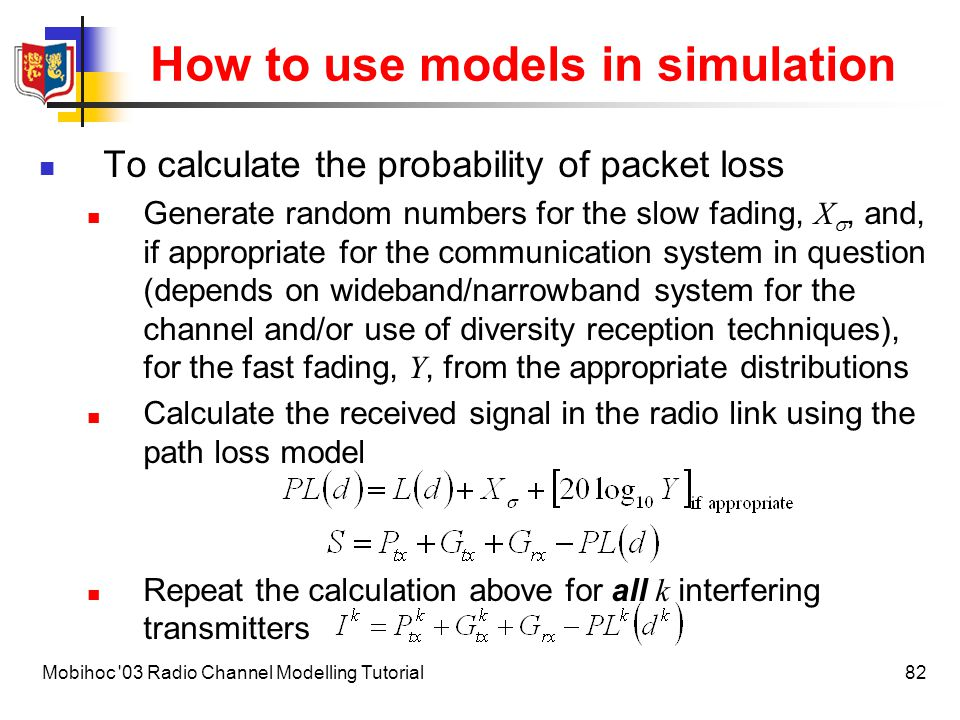 How to use models in simulation