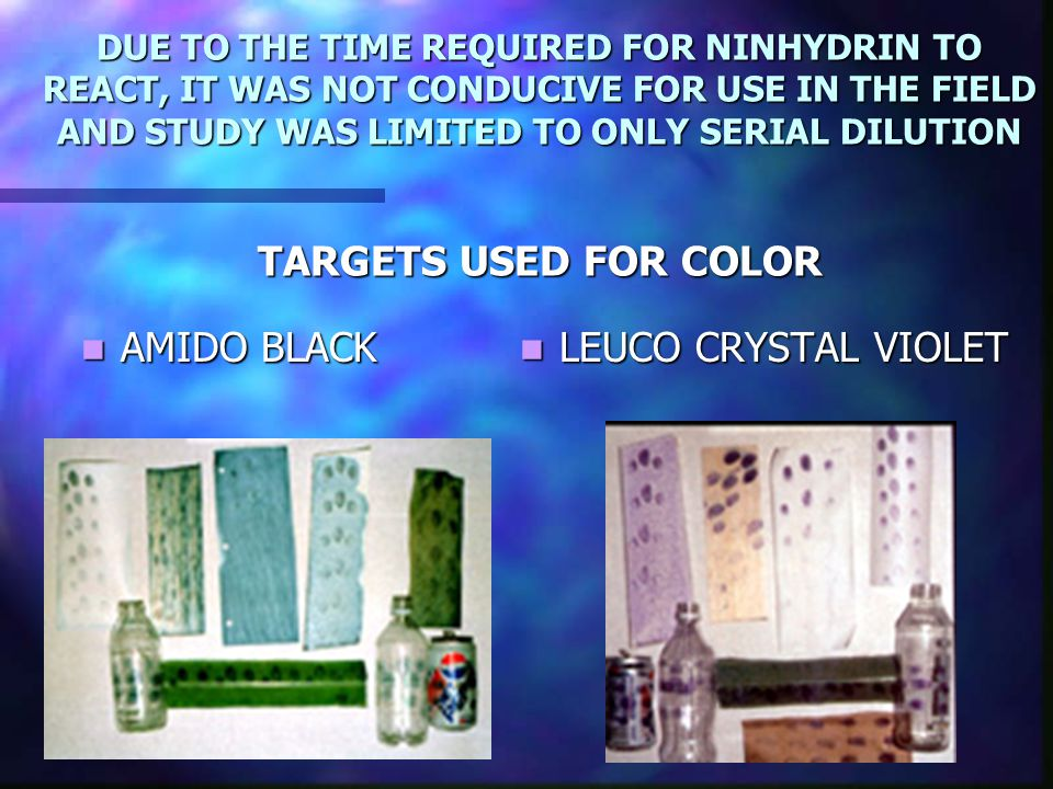 AMIDO BLACK LEUCO CRYSTAL VIOLET