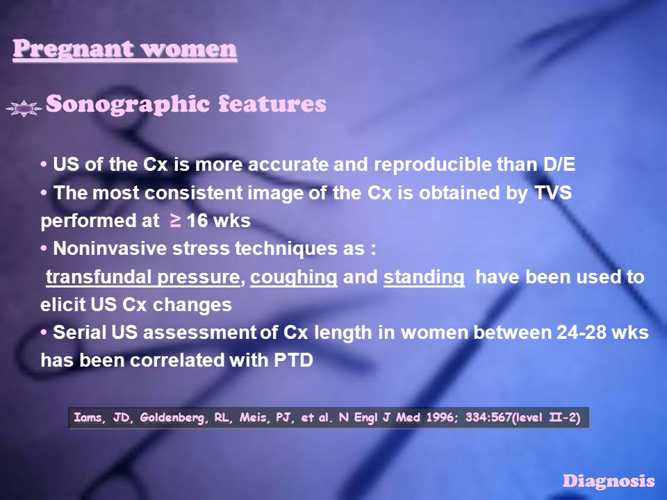 Pregnant women Sonographic features