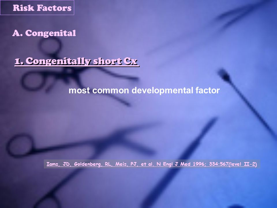 most common developmental factor