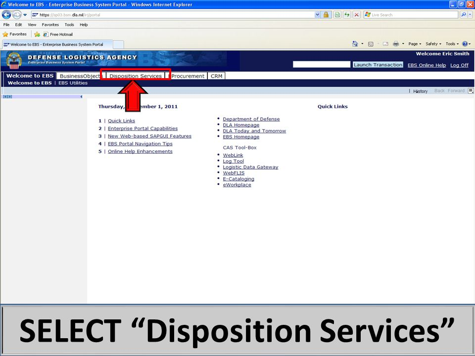 SELECT Disposition Services