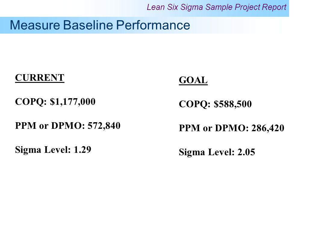 Measure Baseline Performance