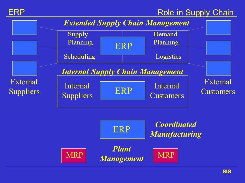 Internal Supply Chain Management