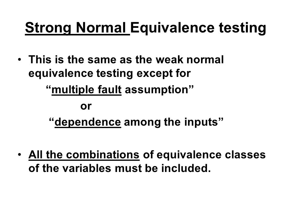 Strong Normal Equivalence testing