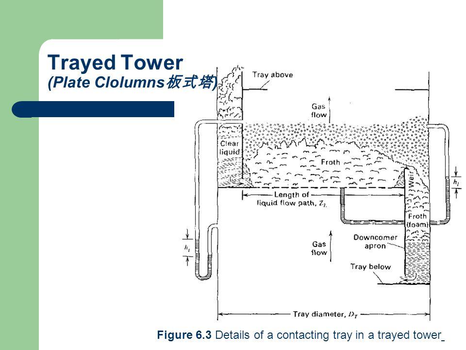 Trayed Tower (Plate Clolumns板式塔)