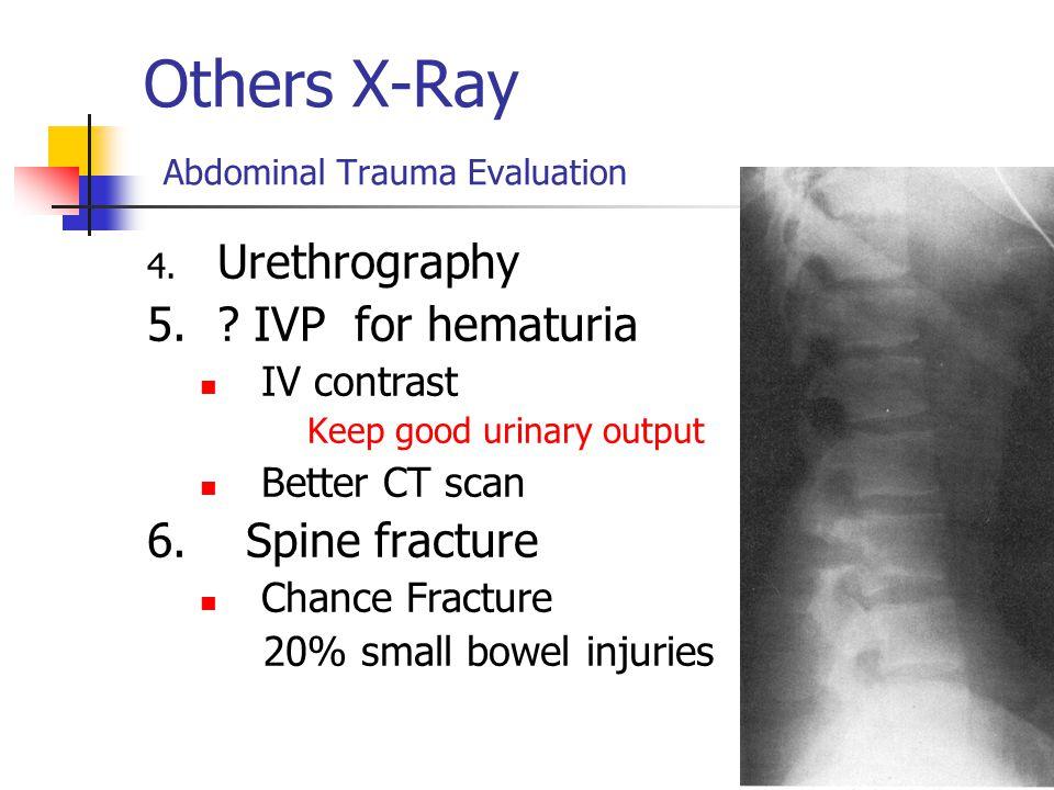 Others X-Ray Abdominal Trauma Evaluation