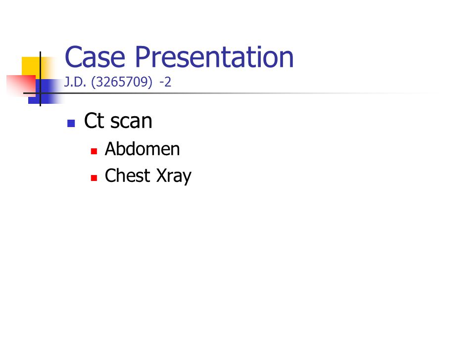 Case Presentation J.D. (3265709) -2