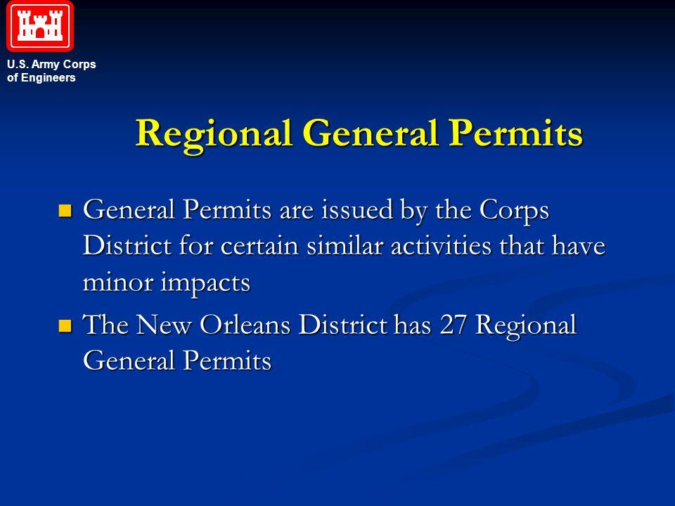 Regional General Permits
