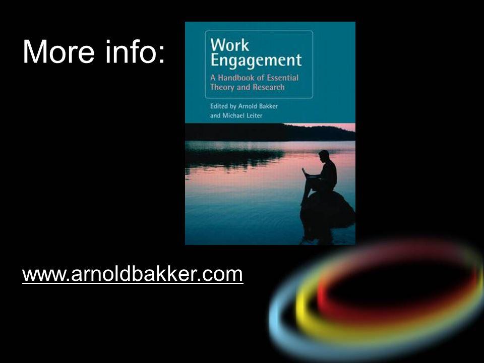More info: www.arnoldbakker.com