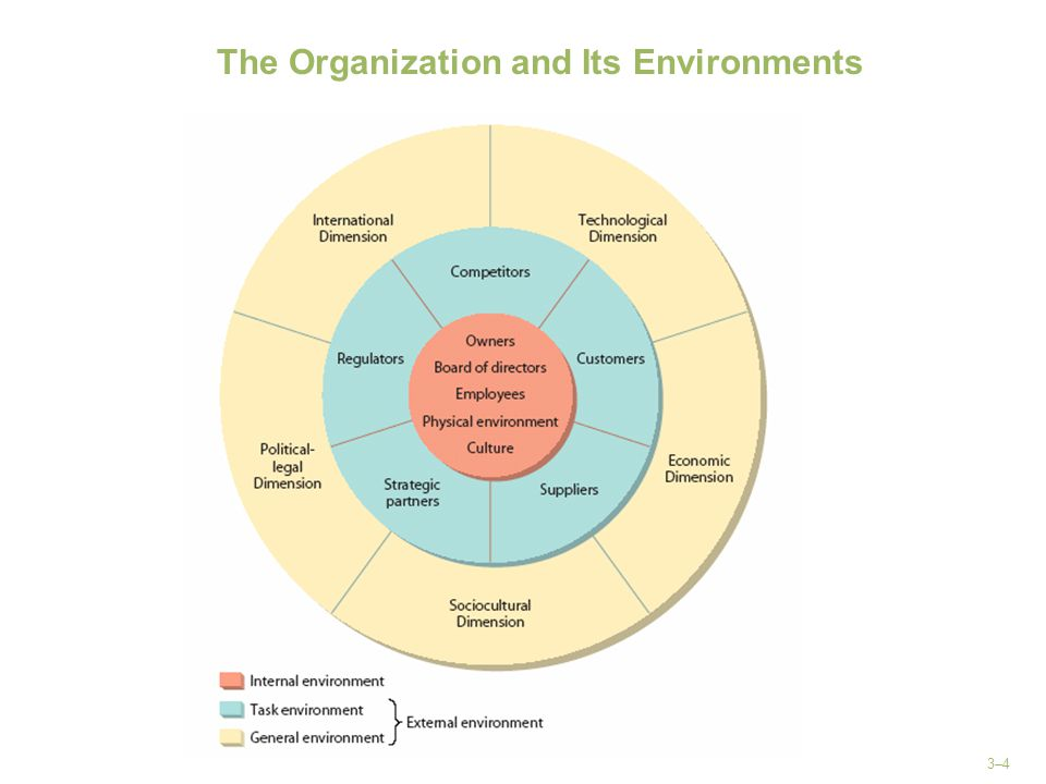 The Organization and Its Environments
