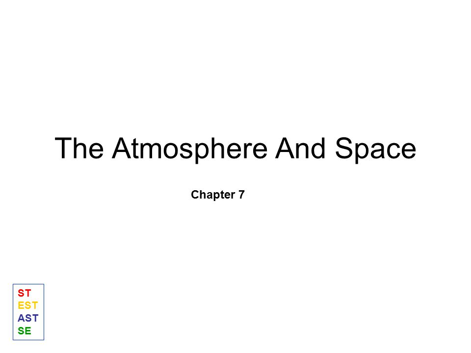 The Atmosphere And Space