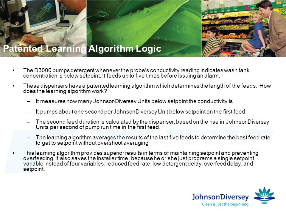 Patented Learning Algorithm Logic