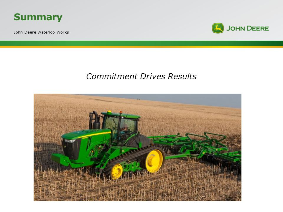 Commitment Drives Results
