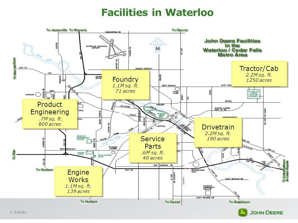 Facilities in Waterloo