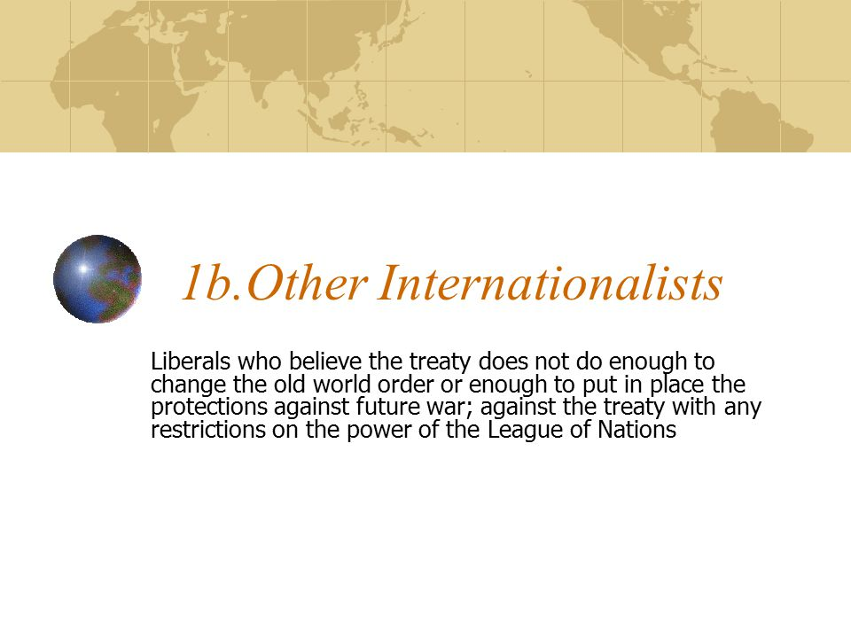 1b.Other Internationalists