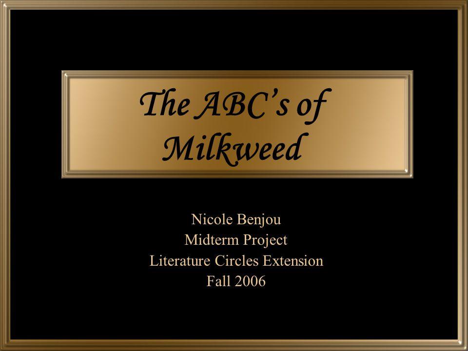 Nicole Benjou Midterm Project Literature Circles Extension Fall 2006