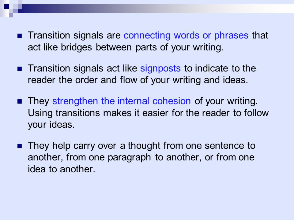 connecting paragraphs to thesis This is often the most difficult paragraph to write in your conclusion, you should  restate the thesis and connect it with the body of the essay in a sentence that.